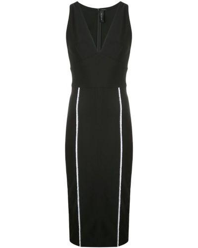 Платье без рукавов - черное Yigal AzrouËl