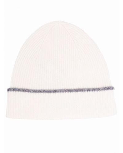 Biała czapka Eleventy