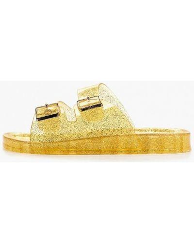 Сабо золотой Style Shoes