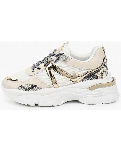 Кожаные белые кроссовки La Bottine Souriante