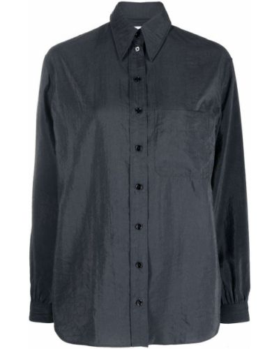 Рубашка с длинным рукавом - серая Lemaire