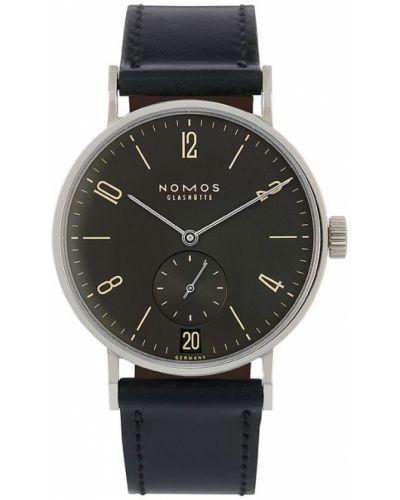 Часы с ремешком - черные Nomos Glashütte