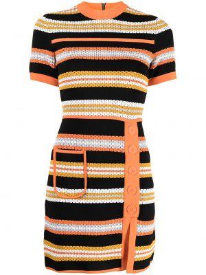 Платье мини короткое - оранжевое Alice Mccall
