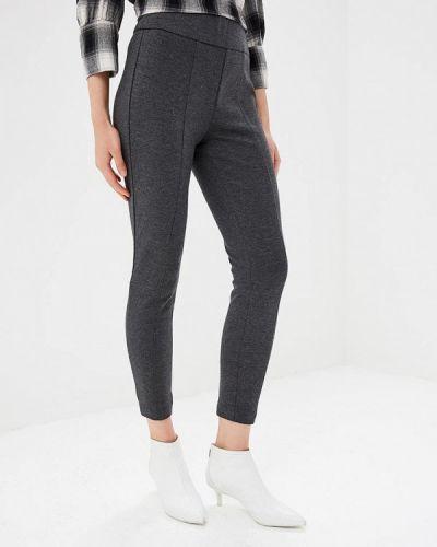 Серые брюки повседневные Gap