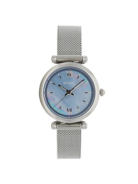 Zegarek srebrny Fossil