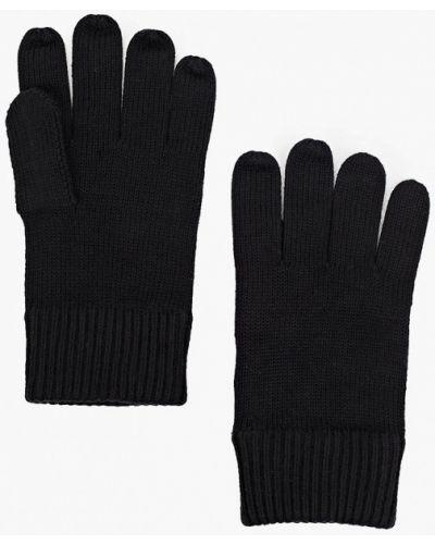 Текстильные черные перчатки Tommy Hilfiger