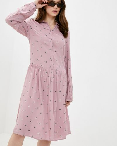 Прямое свободное розовое платье Finn Flare