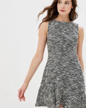 Платье серое прямое Gap