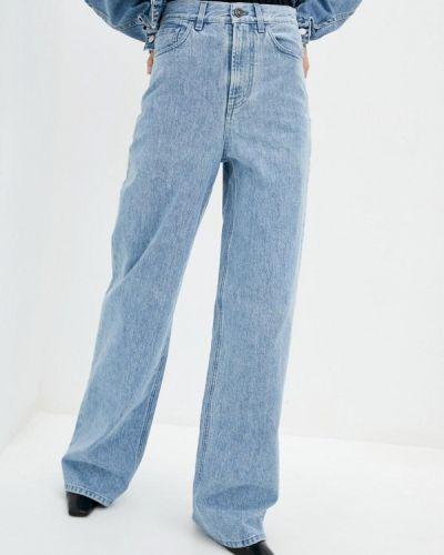 Расклешенные широкие джинсы Miss Sixty