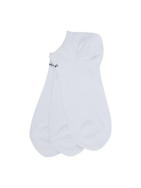 Bawełna bawełna biały skarpety prążkowany Ck Calvin Klein