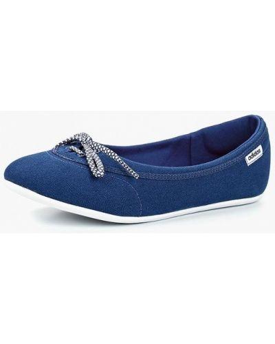 Балетки синий Adidas
