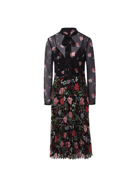 Платье с цветочным принтом вязаное Redvalentino