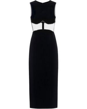 Платье миди с вырезом David Koma