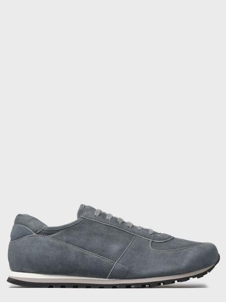 Кожаные серые повседневные кроссовки Andrea Ventura
