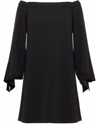 Czarna sukienka mini Tibi