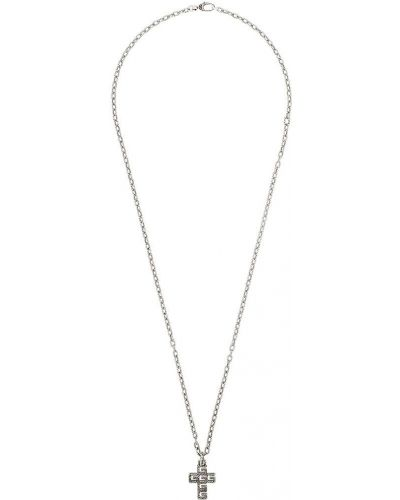Ожерелье серебряный Gucci