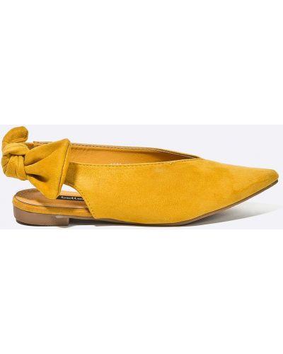 Желтые балетки Answear