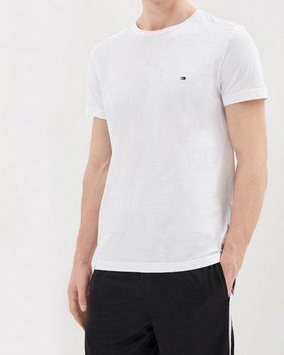 Белая футболка Tommy Hilfiger