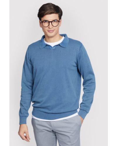 Sweter - niebieski Vistula