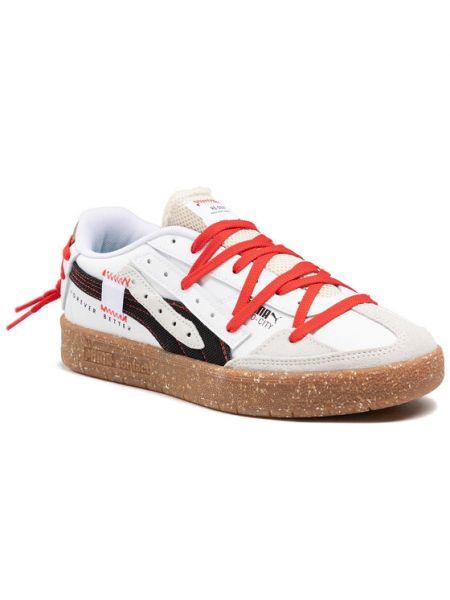 Białe sneakersy miejskie Puma