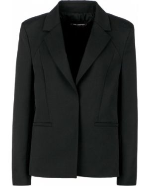 Пиджак черный шерстяной Karl Lagerfeld