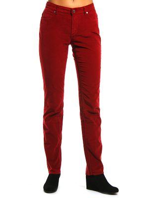 Хлопковые брюки - красные Cerruti 18crr81