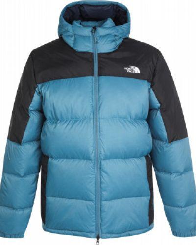 Куртка с капюшоном - зеленая The North Face