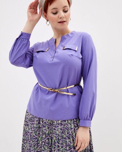 Фиолетовая блузка с длинным рукавом с длинными рукавами Mankato