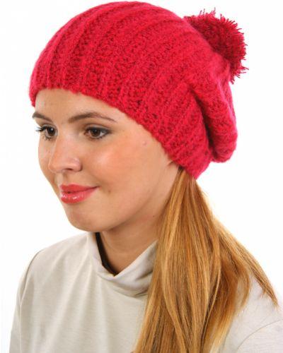Розовая шапка осенняя Passigatti