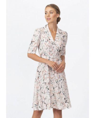 Повседневное платье осеннее бежевое Raimaxx