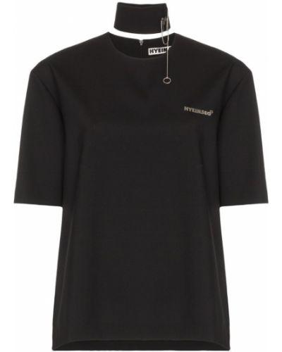 Футбольная черная футболка Hyein Seo