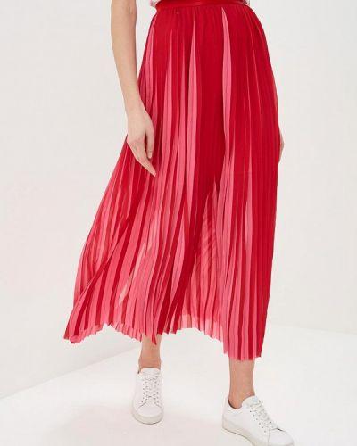 Плиссированная юбка красный Karl Lagerfeld