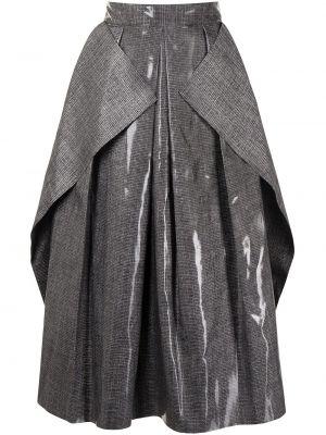 Czarna spódnica z wiskozy Maticevski