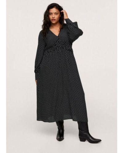 Повседневное платье - черное Violeta By Mango