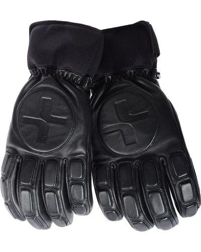 Кожаные перчатки текстильные Lacroix