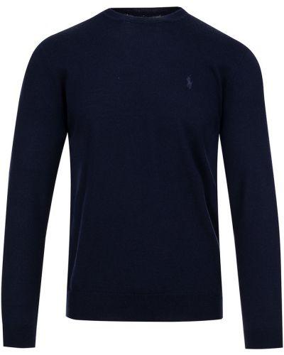 Niebieski pulower Ralph Lauren