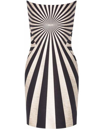 Платье мини с открытыми плечами - черное Gareth Pugh