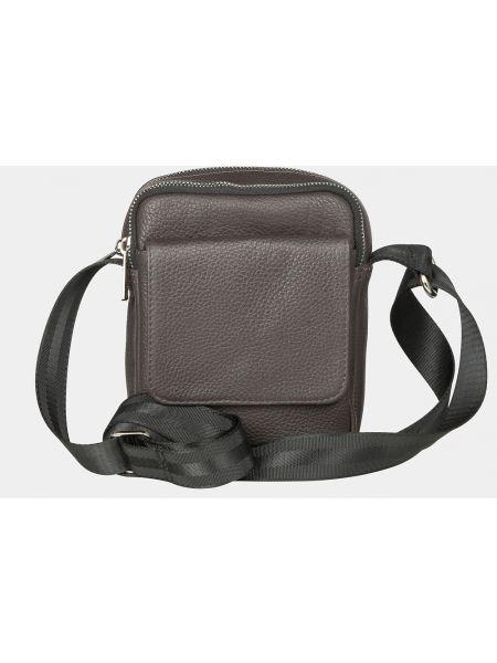 Коричневая кожаная кожаная сумка Ralf Ringer