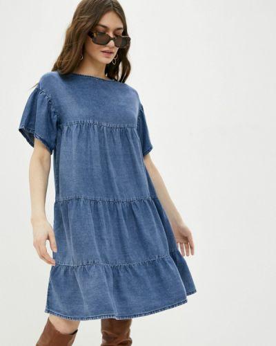 Синее джинсовое платье United Colors Of Benetton