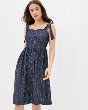 Платье платье-сарафан синее Remix