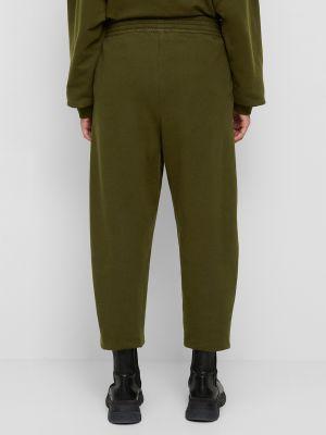 Хлопковые спортивные брюки - зеленые Marc O'polo Denim