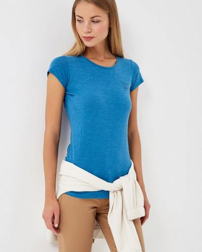 Голубая футболка Rifle