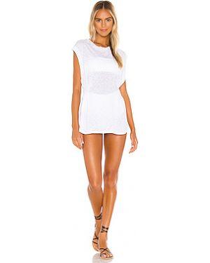 Платье мини с оборками нейлоновое Vitamin A