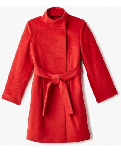 Пальто красный Mamma Mila