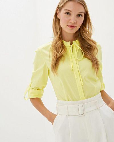 Блузка с длинным рукавом желтый Madeleine