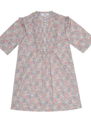 Платье розовый с цветочным принтом Bonpoint