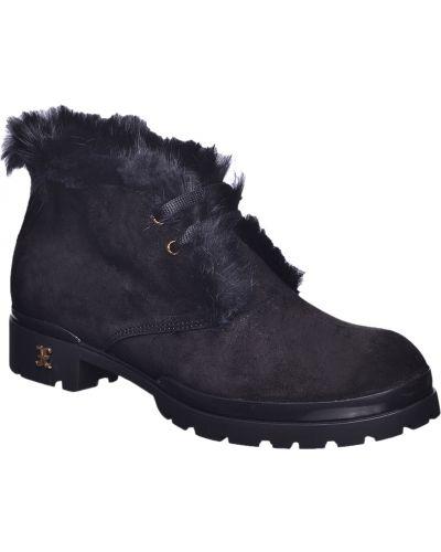 Черные ботинки Fabi