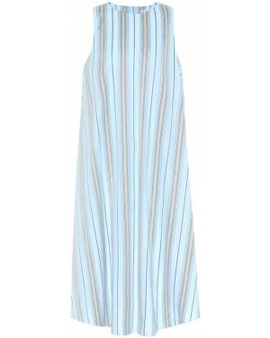 Платье миди в полоску мини Loro Piana
