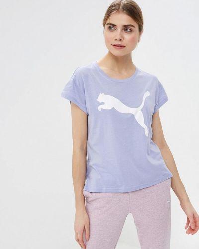 Фиолетовое поло спортивное Puma