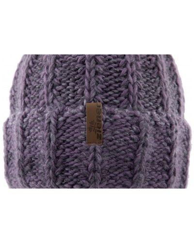 Вязаная шапка - фиолетовая Ziener